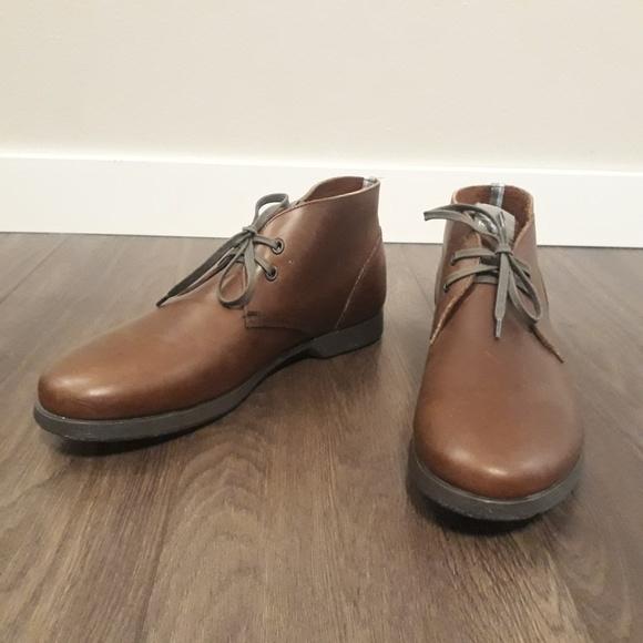 Salvatore Ferragamo Other - Men's Brown Leather Salvatore Ferragamo Chukka